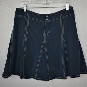 Athleta Dark Teal Whatever Skort Skirt sz 10
